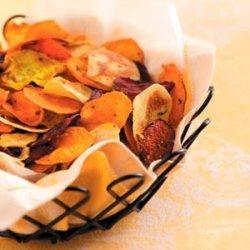 Baked Veggie Chips recipe