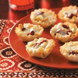 Gorgonzola Phyllo Cups recipe