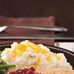 Cheesy Mashed Potato Casserole recipe