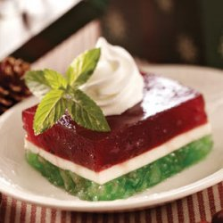 Layered Christmas Gelatin recipe