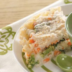 Vegetable Rice Pie recipe