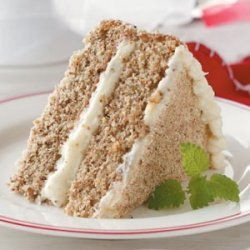 Holiday Walnut Torte recipe