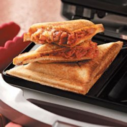 Grilled Pizza Sandwiches recipe