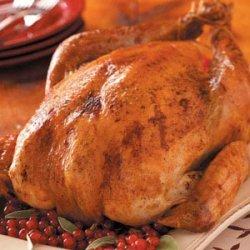 Savory Grilled Turkey recipe