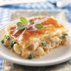 Creamy Pork Potpie recipe