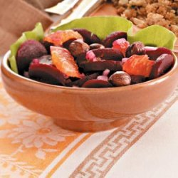 Roasted Beet and Clementine Salad recipe