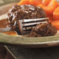Salisbury Steaks With Gravy recipe