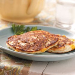 Potato Pancakes with Corn recipe