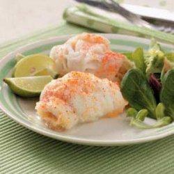 Stuffed Sole with Shrimp recipe