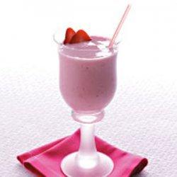 Strawberry Banana Yogurt Smoothie recipe