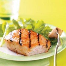 Glazed Pork Chops recipe