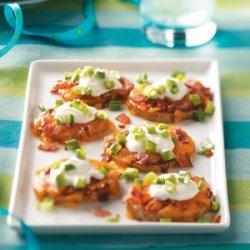 Smoky Potato Rounds recipe