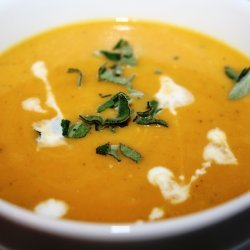 Butternut Squash and Roasted-Garlic Bisque recipe