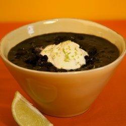 Black Bean Pumpkin Soup recipe