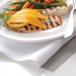 Grilled Tilapia with Mango for 2 recipe