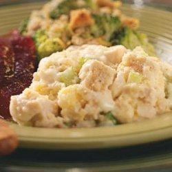 Turkey and Dressing Casserole recipe