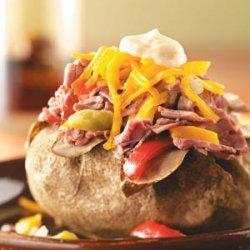 Philly Steak Potatoes recipe