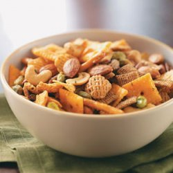 Kickin' Snack Mix recipe