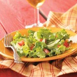 Tossed Salad with Simple Vinaigrette recipe