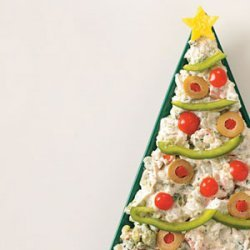 Christmas Tree Dip recipe