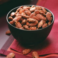 Sweet-Hot Spiced Nuts recipe