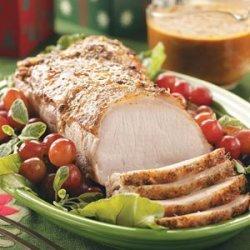 Holiday Pork Roast recipe