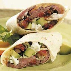 Steak Burritos recipe