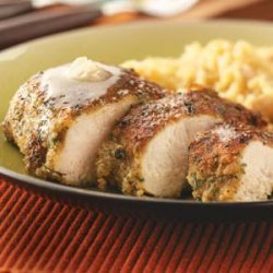 Herb Chicken with Honey Butter for Two recipe