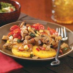 Ratatouille with Polenta recipe