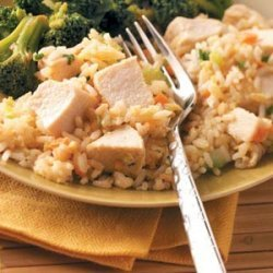 Chicken Fried Rice for Two recipe