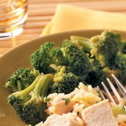 Broccoli in Hoisin Sauce for Two recipe