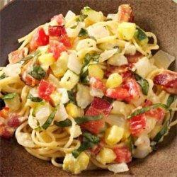 Summer Carbonara recipe