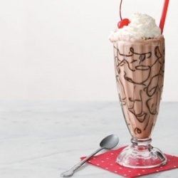 Cherry Chocolate Floats recipe