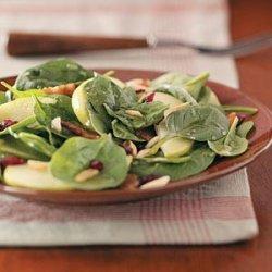 Spinach Almond Salad recipe