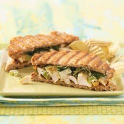 Curried Chicken Paninis for Two recipe