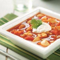 Spicy Turkey Bean Soup recipe