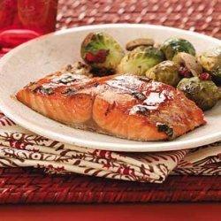 Hoisin Salmon Fillets recipe