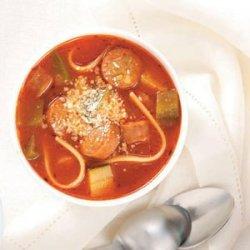 Simple Italian Sausage Soup recipe