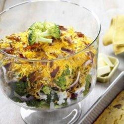 Layered Broccoli Salad recipe