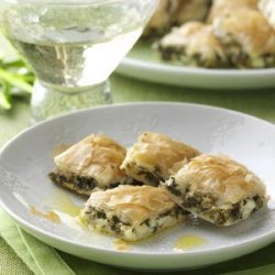 Spanakopita Bites recipe