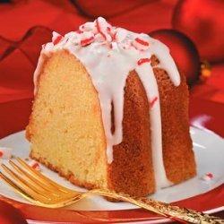 Peppermint Cream Pound Cake recipe