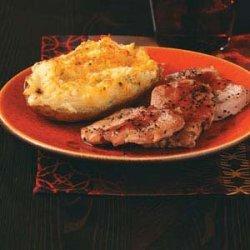 Pork Tenderloin with Raspberry Dijon Sauce recipe