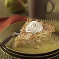 Pear Pie with Cardamon Cream recipe