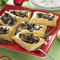 Mixed Mushroom Tartlets recipe