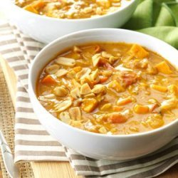 Spicy Peanut Soup recipe