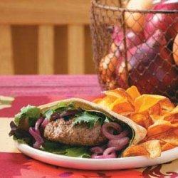 Champion Lamb Burgers recipe