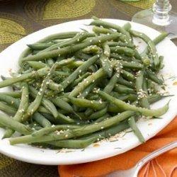 Dill Green Beans recipe