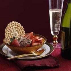 Asti & Strawberries Dessert recipe