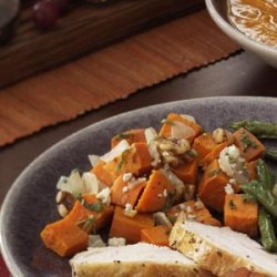 Pumpkin with Walnuts and Blue Cheese recipe