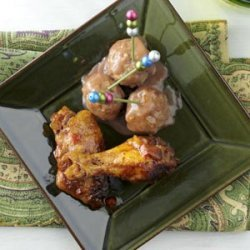 Creamy Cranberry Meatballs recipe